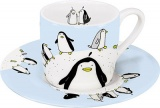 Hrnek Globetrotter/Penguin espresso tučňák