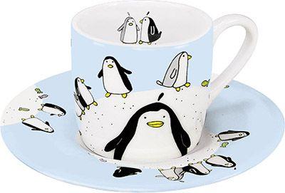 Hrneček s motivem tučňáků