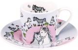 Hrnek Globetrotter/Horse espresso - koně