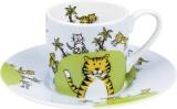 Hrnek Globetrotter/Tiger - espresso - tygr