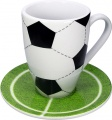 Hrnek s talířkem Football/Mug set