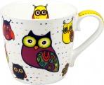Hrnek Owl/White -  sova
