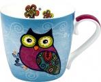 Hrnek Owl/Blue -  sova