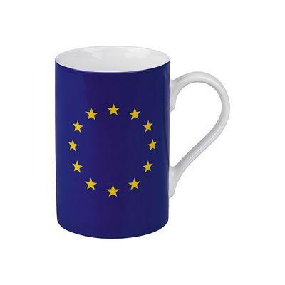 Hrnek s motivem vlajky EU