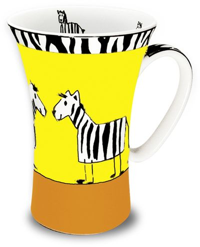 Hrnek s motivem zebry