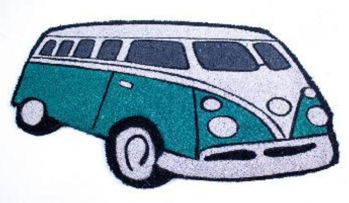 Rohožka auto