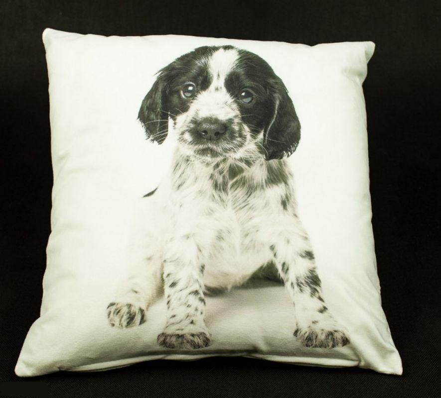 návlek na polštář pes