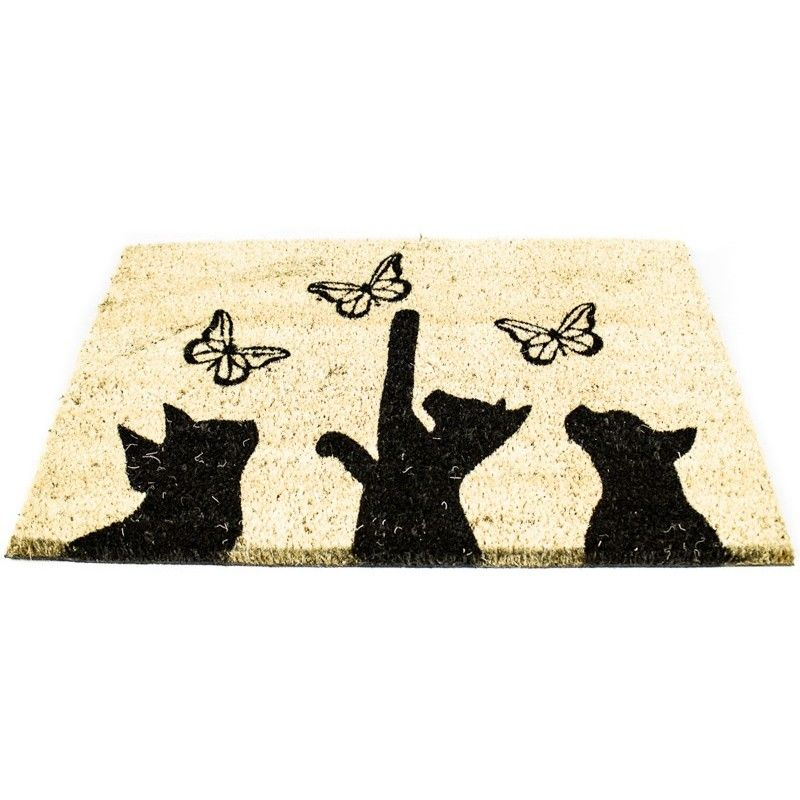 rohožka kočka