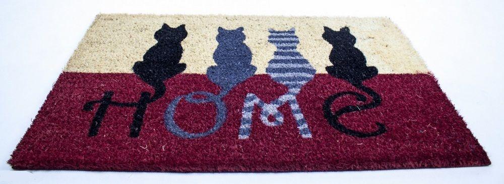 rohožka kočky domov