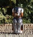 Soška pes sedící