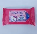 Vlhčené ubrousky kočka HELLO KITTY 15 ks