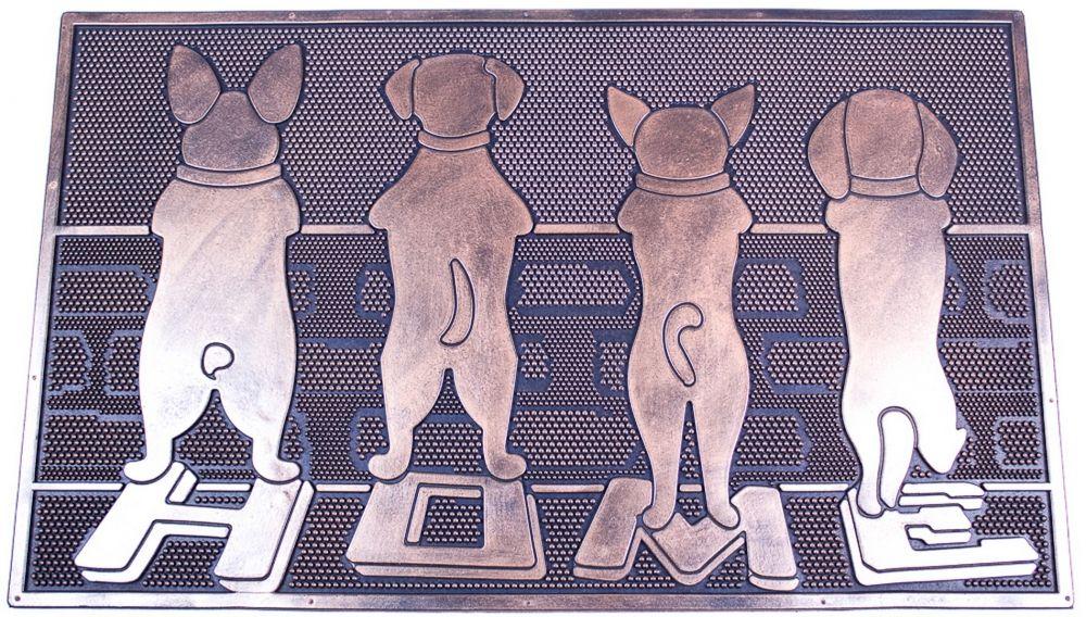 Rohožka gumová se psy
