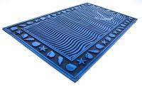 Gumová rohož mořský motiv s kotvičkou