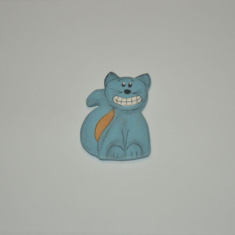 Magnet dřevěný kočka typ 13