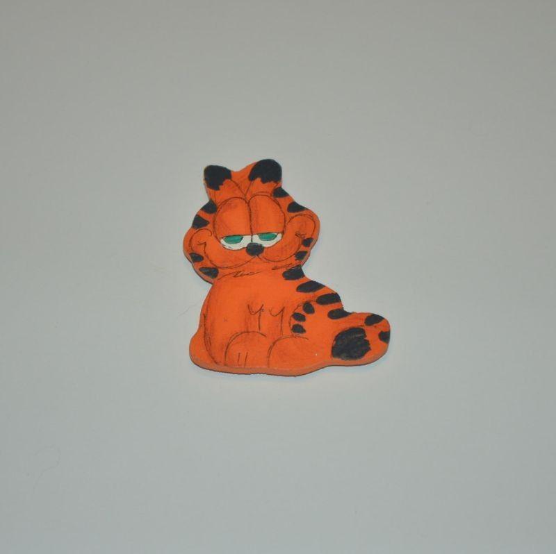 Magnet dřevěný kočka typ 18 kocour Garfield