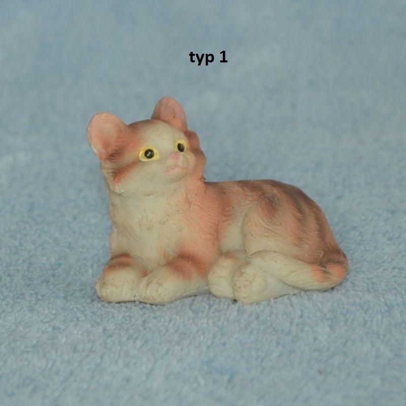 Soška kočka barevná