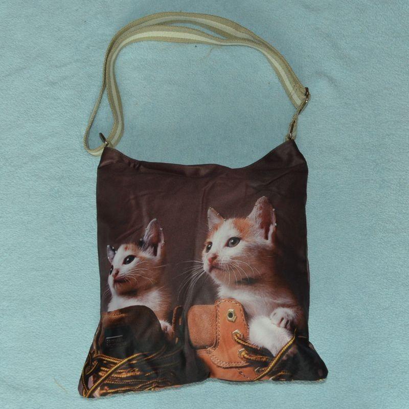 Kabelka dvě kočičky