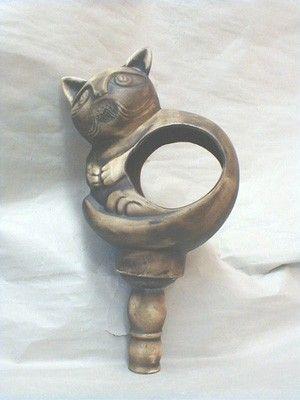 Kočka - krmítko pro sýkorky