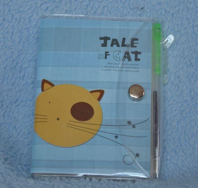Poznámkový bloček - Tale of cat - Příběh kočky