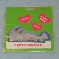 VELKÉ SAMOLEPKY BIRMAN - kočka Birma