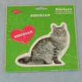 VELKÉ SAMOLEPKY SIBERIAN - kočka sibiřská