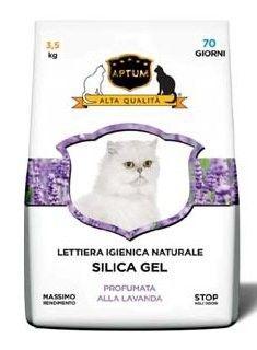 Aptum levandule - silikonová podestýlka 3,5 kg (7,5 l)