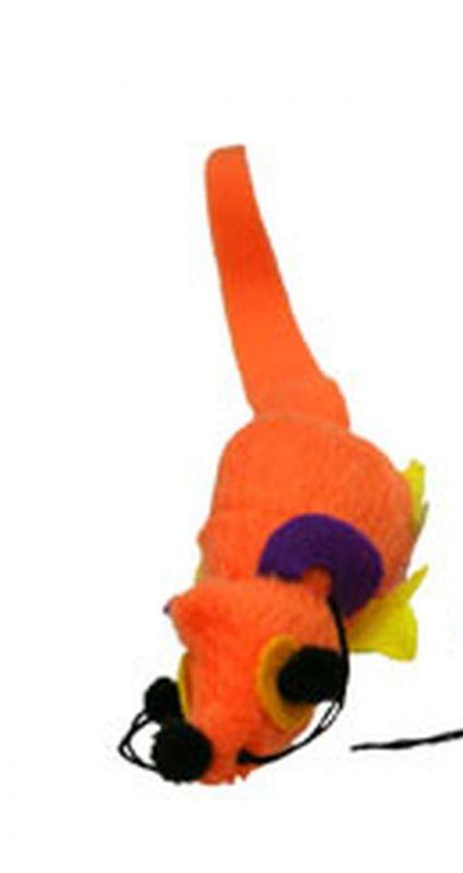 Hračka pro kočky s Catnipem - Critters oranžová