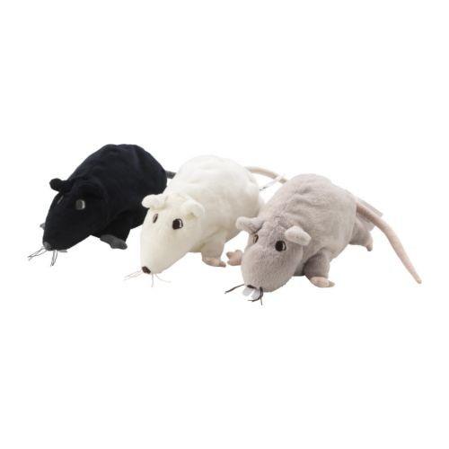 Plyšová krysa s kozlíkem lékařským